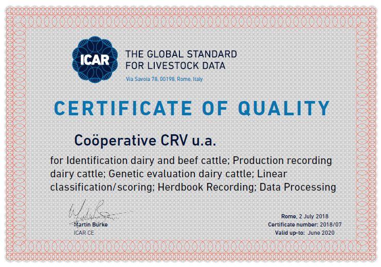 ICAR-gecertificeerd
